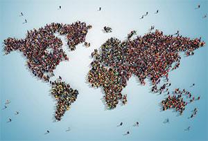 Au service de la population mondiale